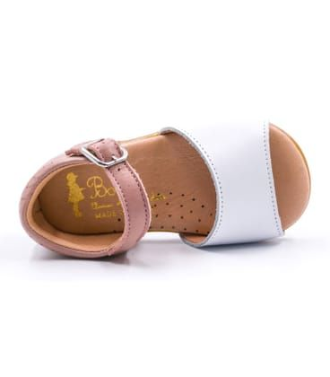 205aa6a97021a Sandales bébé fille souples de la marque Boni   Sidonie