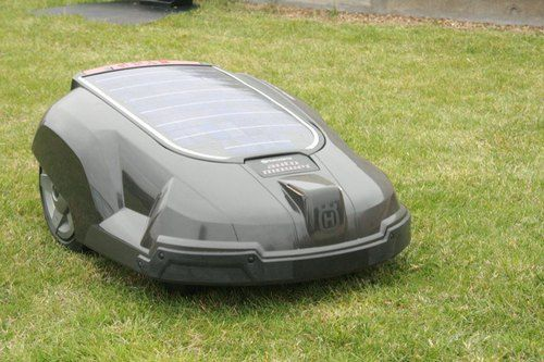 Solar Automatic Lawn Mower - When your Roomba bulks up, gets some blades, and goes outside, you end up with the Husqvarna solar powered lawn mower. Easily eliminating 1/2 acre yards with the quickness, this is a true American dream style lawn mower.