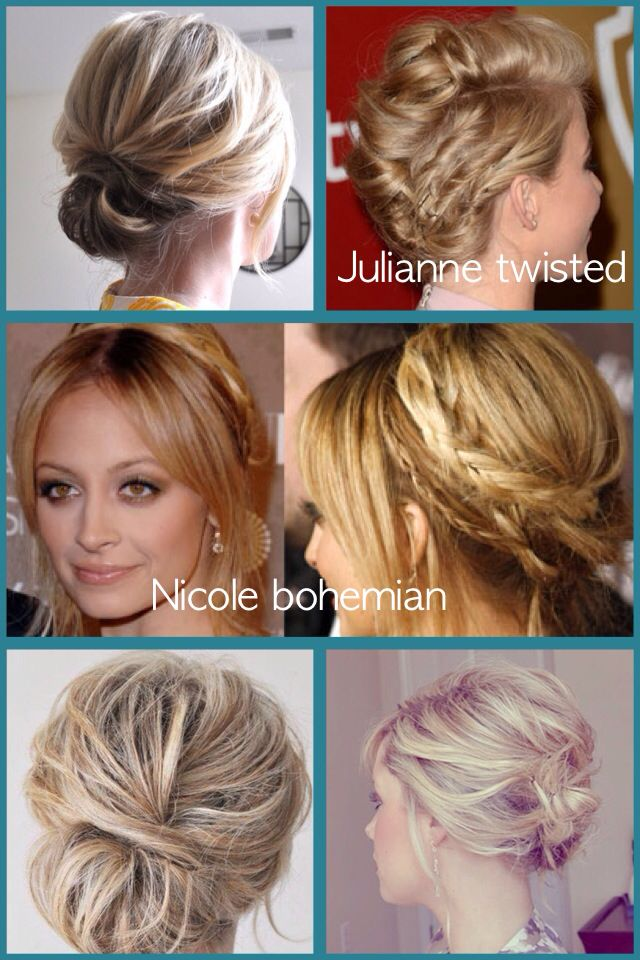 Updo Hairstyles For Medium Length Hair To Makeover Pinterest