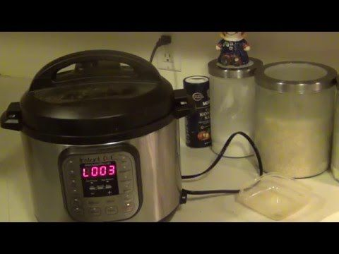 Chicken and yellow rice power pressure cooker part - YouTube