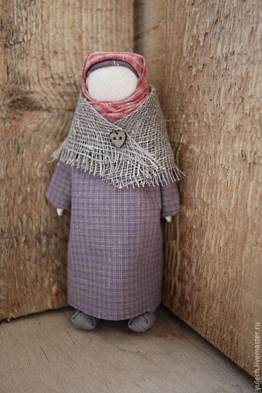 """Купить Куколка-убоженька-жалейка народная русская """"Евдокиюшка"""" - разноцветный, народная кукла"""