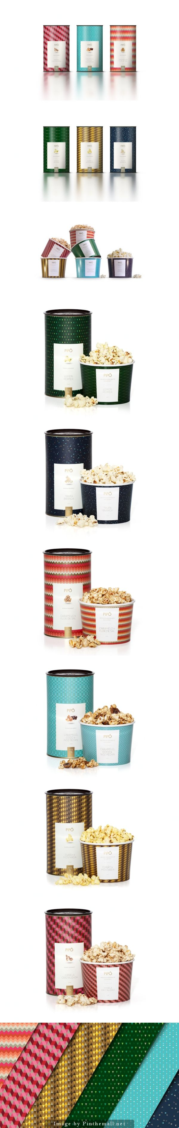 Pipó: The #Popcorn's Reinvention (Concept), Creative Agency: Agência Yo - http://www.packagingoftheworld.com/2014/10/pipo-popcorns-reinvention-concept.html