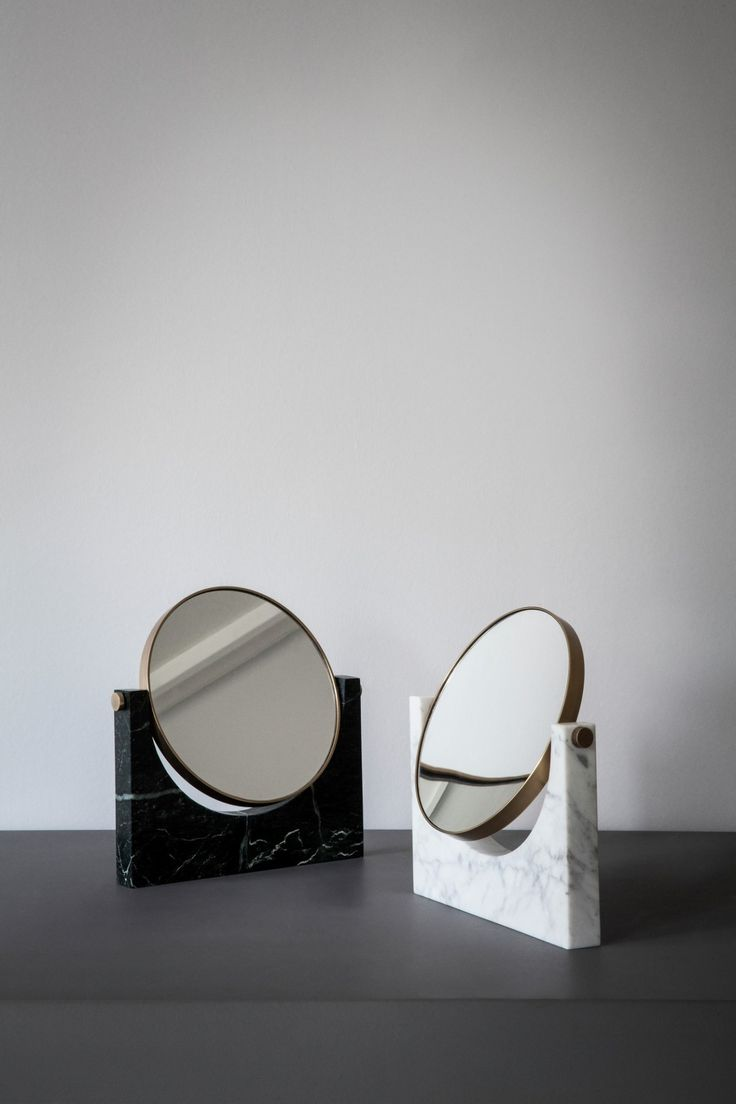 Marble Mirror is a heroic, beautiful object for everyday use. The design is iconic and the mirror is made to last a lifetime. Designers Studiopepe are obsessed