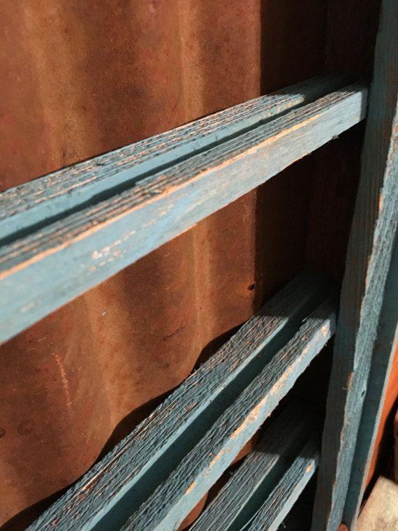 Belt Buckle Display Case distressed