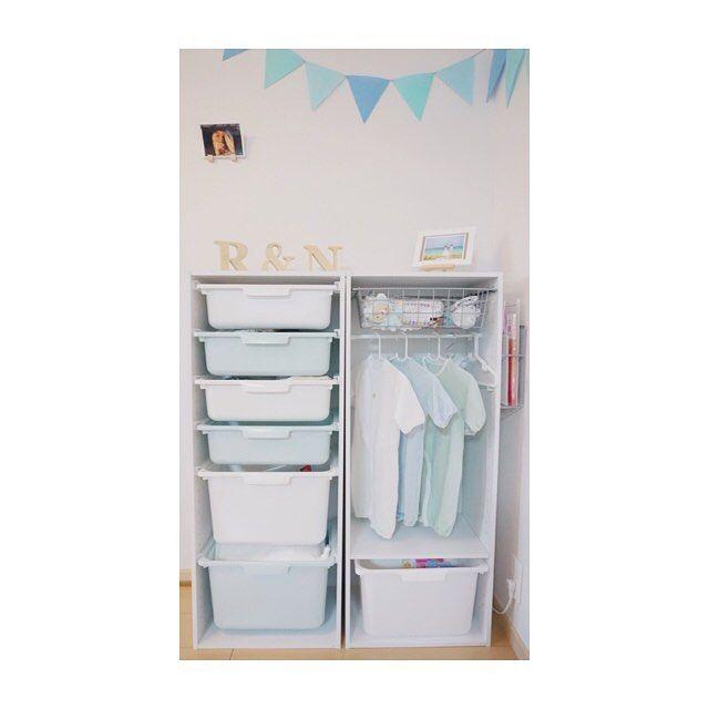 収納賢者はニトリのカラボでベビー服収納を簡単diy たまひよ ベビー服 収納 赤ちゃん 服 収納 赤ちゃんの部屋の整理整頓