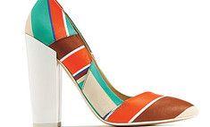 Уроки геометрии: с чем носить полоску и мозаику #fashion