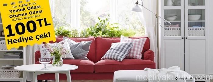 IKEA 100 TL Hediye Çeki Fırsatı