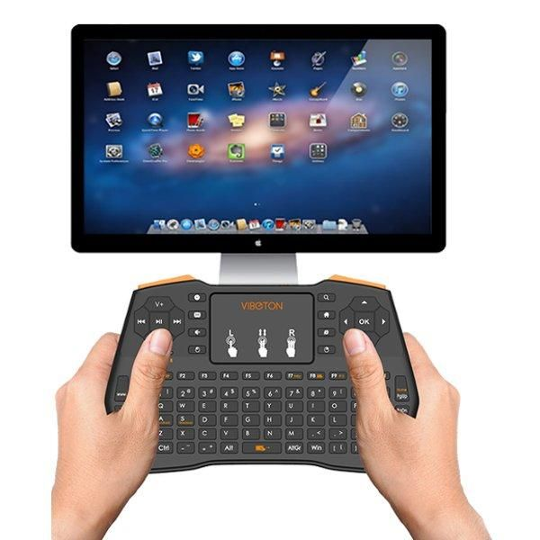 I8 Plus Mini 2.4GHZ Wireless Keyboard Touchpad Mouse For Macbook Laptop Tablet Projector Smart TV Box Sale - Banggood.com