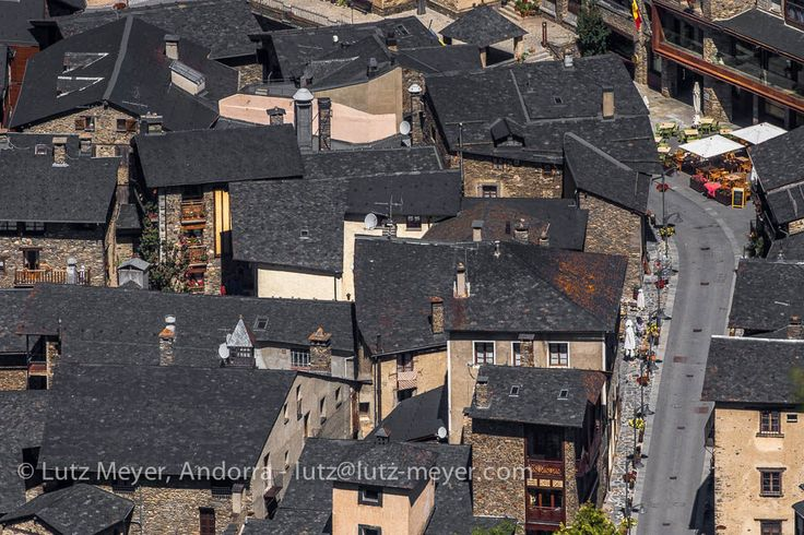 lutzmeyer posted a photo:  Carrer Major. Ordino historic center, Vall nord, Andorra, Pyrenees