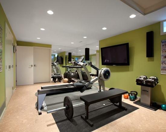 Home gym paint color home gym pinterest home gyms for Home gym room