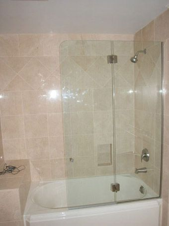 Frameless Tub Doors - Bathtub Doors | Inward And Outward ...