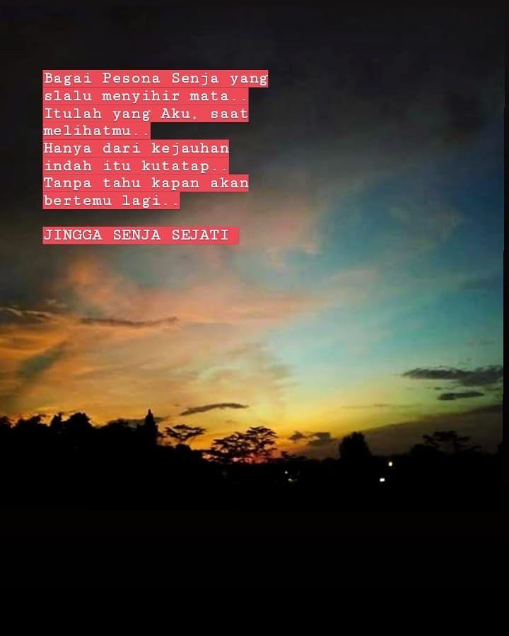 yangterdalam puisi malam pagi senja bintang mimpi