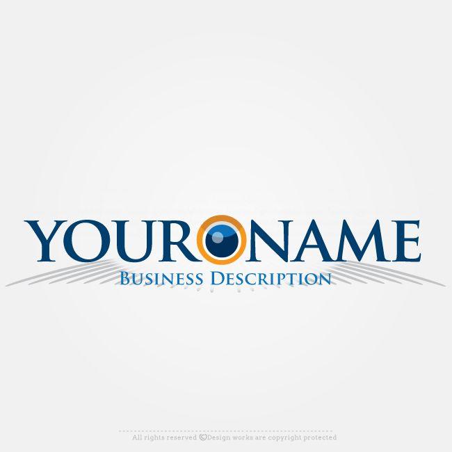 Free Logo Maker – Create Logo Online – Eye Logo Design