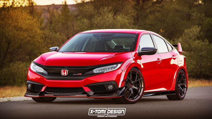 Latest Honda Civic Sedan Gets The Virtual Type R Treatment