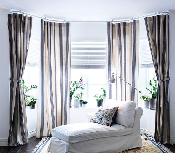 Rehab Or Installing Ikea Curtain Rod And Custom Curtains