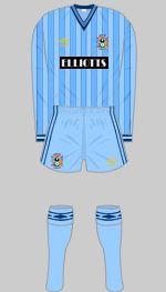 Coventry City - Historical Football Kits