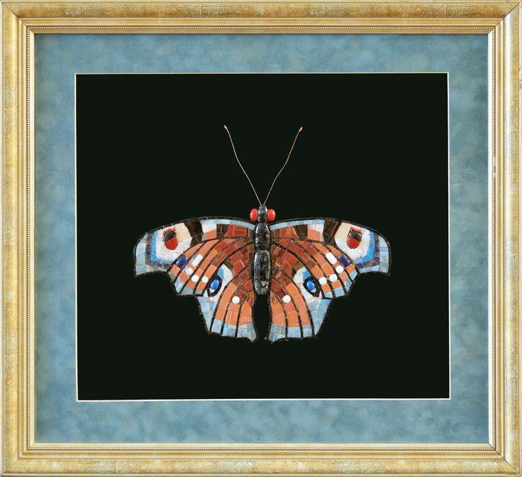 """Mosaic.Бабочка """"Павлиний глаз"""""""