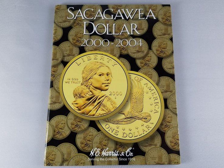 New H.E. HARRIS & CO Sacagawea Dollar Collection 2000-2004 Book Coin Folder #HEHarrisCo