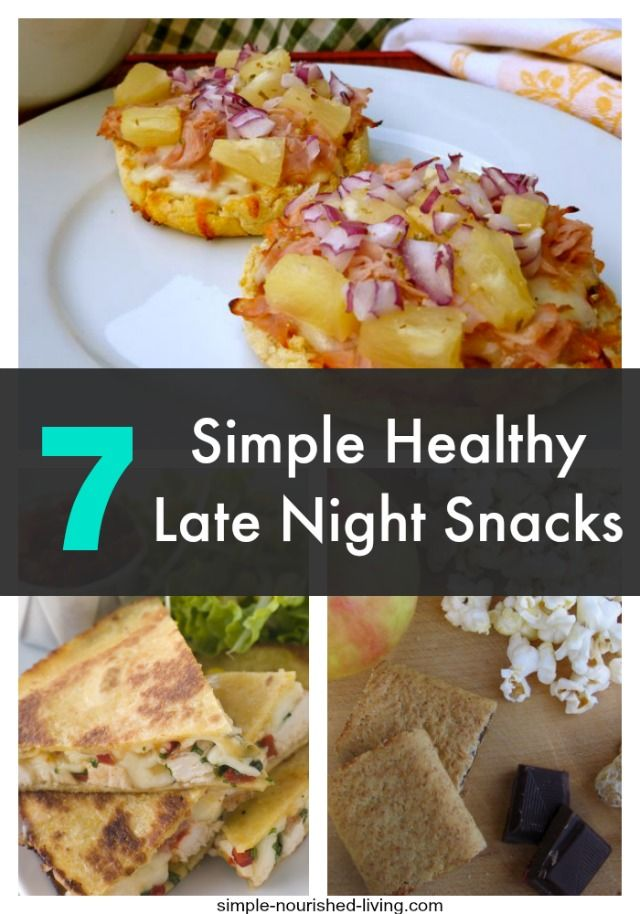 17 Best ideas about Healthy Late Night Snacks on Pinterest |..