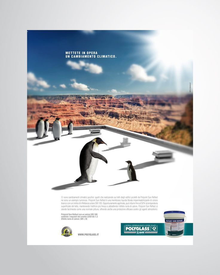 POLYGLASS – MAPEI Advertising Adeso and Polysint | Concept & Art Direction D&Co