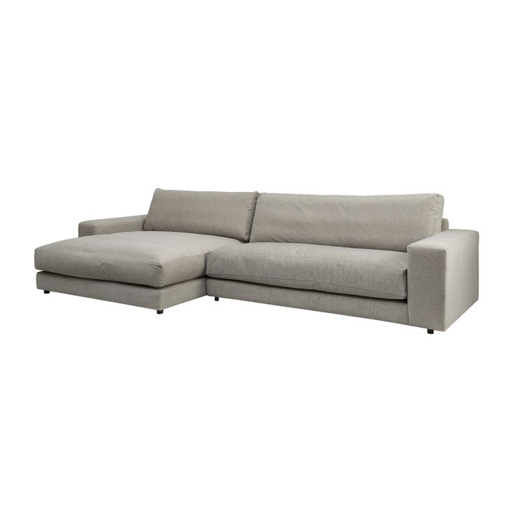 Downey 3 seat sofa with Chaise - Dare Gallery