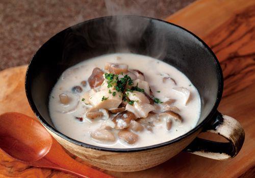茅乃舎野菜だし きのこのクリームスープ