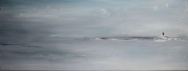 Gallerymak.com - Günün Eseri / #Artoftheday - 6.900 TL / 2.100 USD  Stay Away From the World by XIN ZHU - TÜYB / #Oiloncanvas - 80x30  #gallerymak #oilpainting #soyut #yağlıboya #sanat #sergi #galeri #resimgalerisi #arte #abstractart #soyut #cagdassanat #contemporaryart #modernart #artgallery #ressam