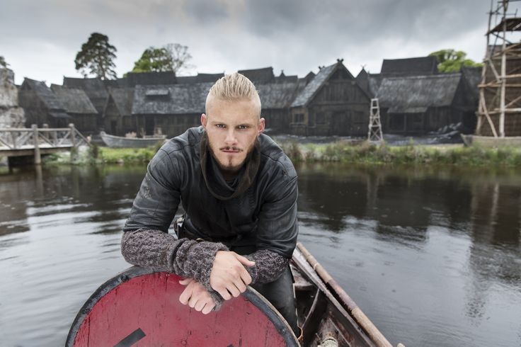 "Vikings S4 Alexander Ludwig as ""Bjorn Lothbrok"""