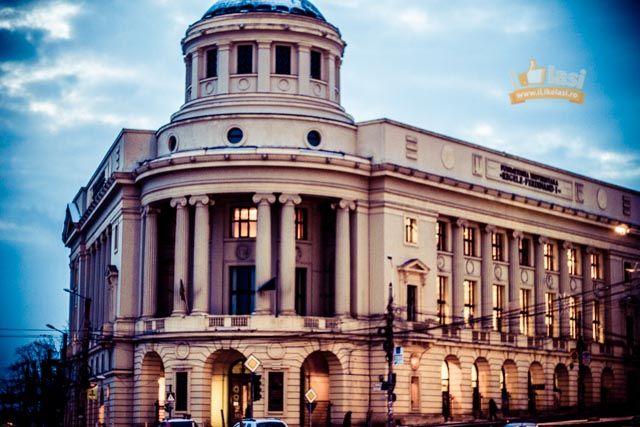 """Biblioteca Centrală Universitară """"Mihai Eminescu"""" Iaşi"""
