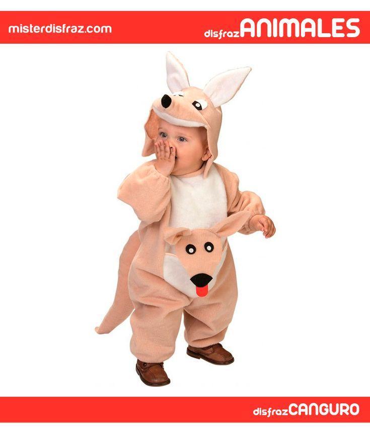 Disfraz de Canguro Australiano para Bebé. Con este disfraz de Canguro Bruno tu bebé no dejará de dar saltos como los verdaderos canguros de Australia. Será el animalito más gracioso y original de todas las Fiestas de Carnaval. #disfrazdeanimal #disfrazesdeanimales #disfraz #animal #disfrazbebe #bebe #canguroaustraliano #canguro #australiano