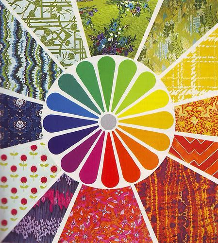 interesting colour wheel
