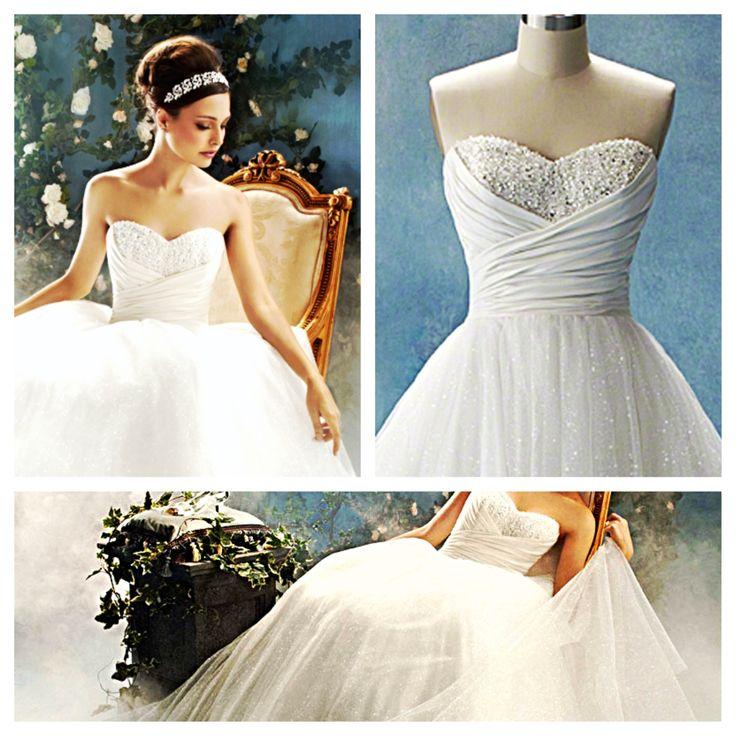 Alfred angelo cinderella dress wedding ideas pinterest for Alfred angelo cinderella wedding dress
