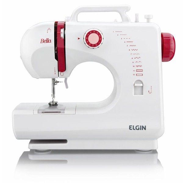 Máquina de Costura Portátil Bella BL - 1200 Elgin - Bivolt