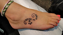 i refuse to sink | so many pretty tattoos!