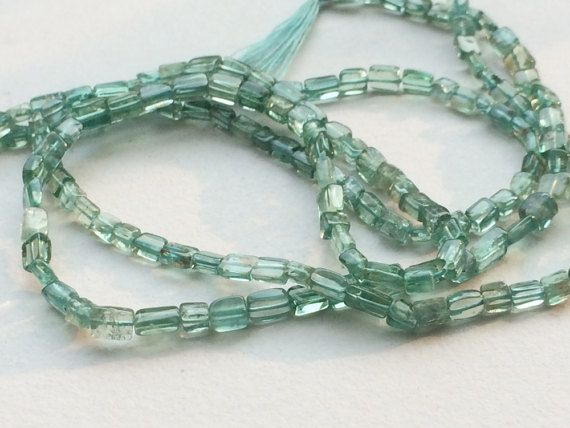 Green Apatite Beads Green Apatite Plain Long Box by gemsforjewels