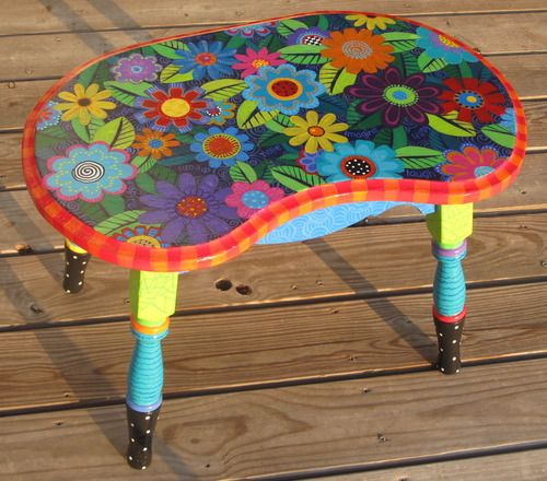 1000+ Ideas About Painted Coffee Tables On Pinterest