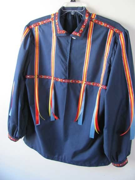 Cherokee Ribbon Shirt Fancy Native American Attire by irishandmore, $95.00
