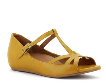 Mustard Yellow Orthodic Friendly Sandals for Summer...super cute...on my wishlist