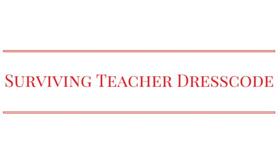 In my former life I worked at an elementary school. No, I wasn't a teacher. I worked in administration. However, professional dress was subjective at best, depending on who was leading the co…