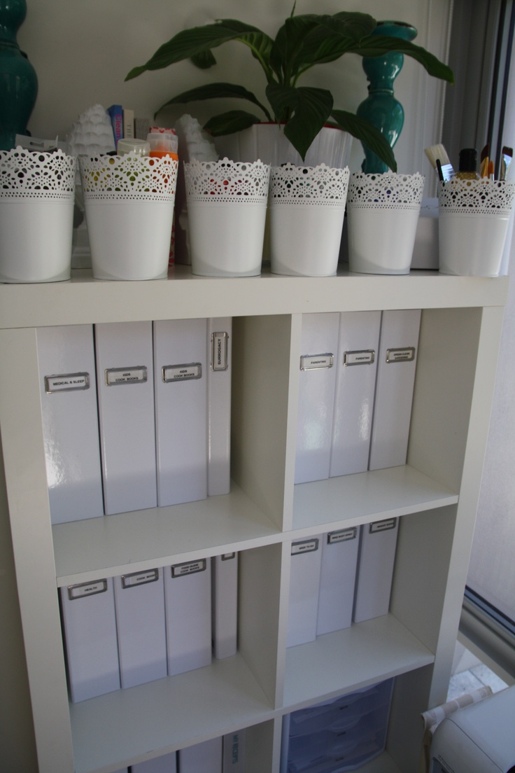 Classroom Ideas Ikea ~ Home office use these ikea planters to hold stationery