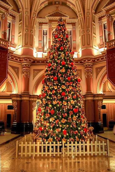 """Christmas at 333 Collins Street"""