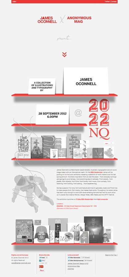 James Oconnell x 2022NQ Exhibition