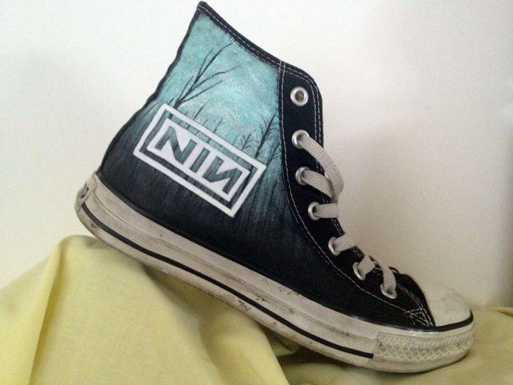 Custom Nine Inch Nails Converse