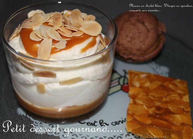 Mousse au chocolat blanc