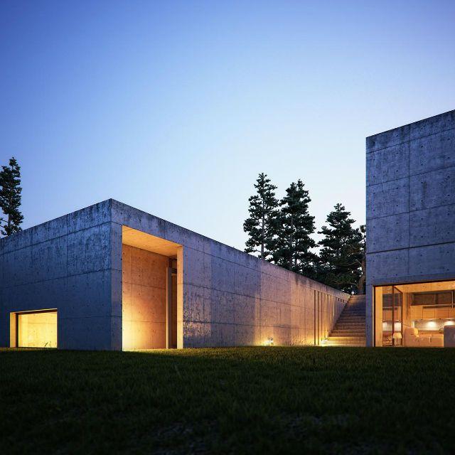 Casas Minimalistas  Casa Koshino, un laberinto de luz, Tadao Ando