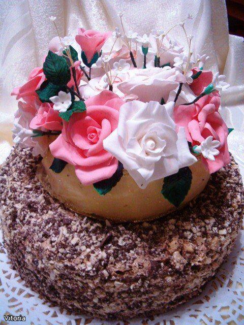 Вкусный тортик по рецепту buxgalter_sofia я делала на день рождениие мамы,всем очень понравился. Сонечка огромное спасибо за рецепт. Шоколадный корж: 100 г горького…