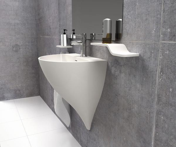Mejores 17 im genes de lavabos solid surface en pinterest for Lavamanos suspendido