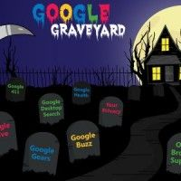 The Google Graveyard: A Resting Place for Great Ideas [Infographic] | TechieApps