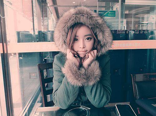 Song Ah Ri | via Tumblr 얼짱