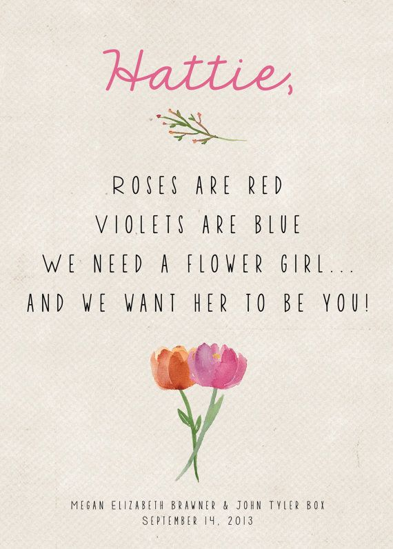 What Does a Flower Girl Do? – Ask Emmaline(  Giveaway!)